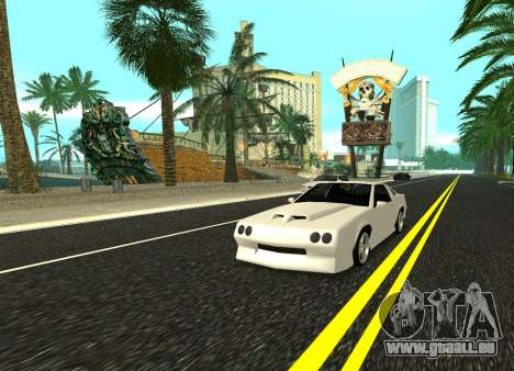 Buffalo HD pour GTA San Andreas