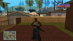 C-HUD by NickQuest für GTA San Andreas
