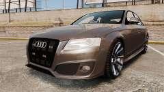 Audi S4 2013 Unmarked Police [ELS] für GTA 4