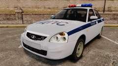 VAZ-2170 de la Police