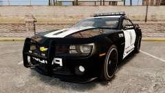 Chevrolet Camaro Police [ELS-EPM] für GTA 4