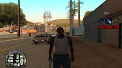 C-HUD (LSPD) für GTA San Andreas