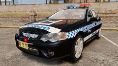 Ford BF Falcon XR6 Turbo Police [ELS] für GTA 4
