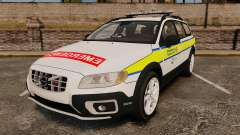 Volvo XC70 Emergency Response Unit [ELS] pour GTA 4