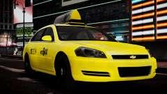 Chevrolet Impala 2006 Такси pour GTA 4