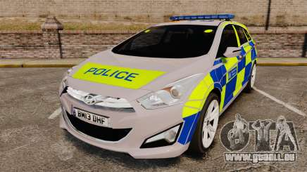 Hyundai i40 2013 Metropolitan Police [ELS] für GTA 4