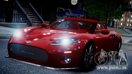 Spyker C8 Aileron Spyder v2.0 pour GTA 4