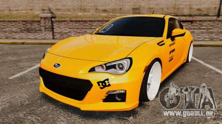 Subaru BRZ 2013 pour GTA 4