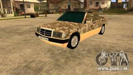 Mercedes-Benz 190E Army für GTA San Andreas