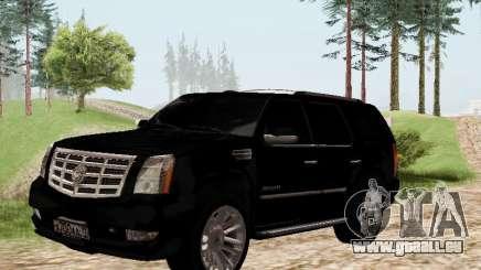 Cadillac Escalade 2010 pour GTA San Andreas