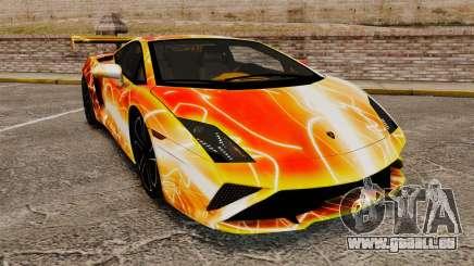 Lamborghini Gallardo 2013 Red Light pour GTA 4