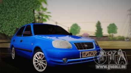Hyundai Accent Admire 2004 für GTA San Andreas