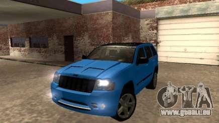 Jeep Grand Cherokee SRT8 Restyling M für GTA San Andreas