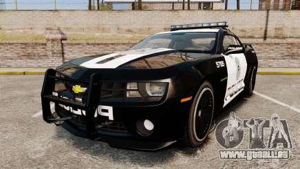 Chevrolet Camaro Police [ELS-EPM] pour GTA 4