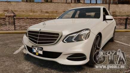 Mercedes-Benz E63 AMG 2014 v2.0 pour GTA 4