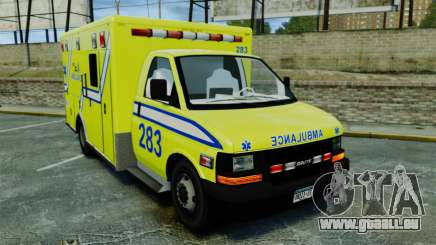 Brute New Liberty Ambulance [ELS] pour GTA 4