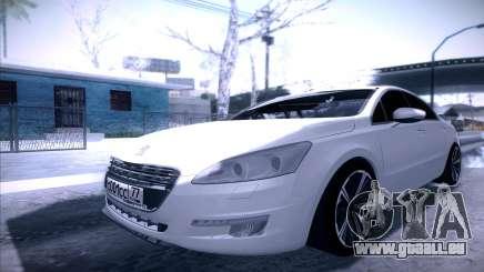Peugeot 508 2011 v2 für GTA San Andreas