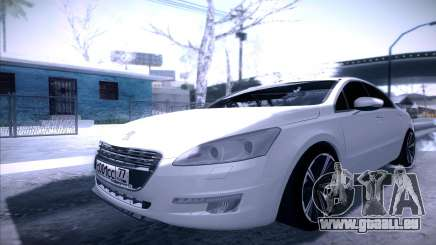 Peugeot 508 2011 v2 pour GTA San Andreas