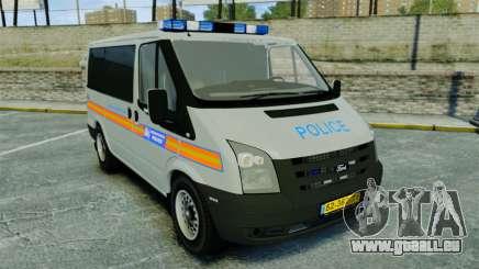Ford Transit Metropolitan Police [ELS] pour GTA 4