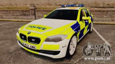 BMW 530d Touring Lancashire Police [ELS] für GTA 4