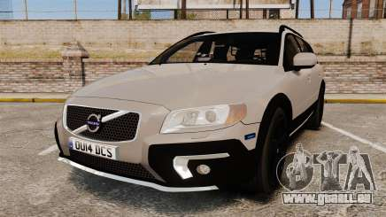 Volvo XC70 2014 Unmarked Police [ELS] für GTA 4