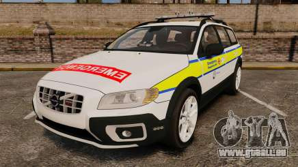 Volvo XC70 Emergency Response Unit [ELS] pour GTA 4