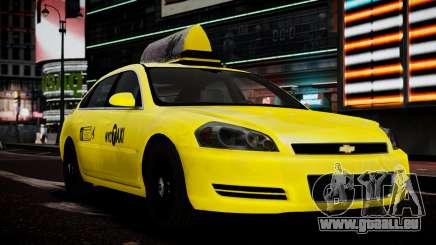 Chevrolet Impala 2006 Такси für GTA 4