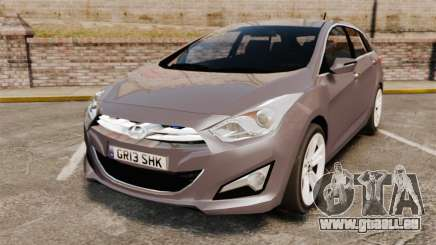 Hyundai i40 2013 Unmarked Police [ELS] pour GTA 4
