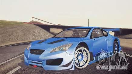 Hyundai Genesis Coupe 2010 Tuned für GTA San Andreas