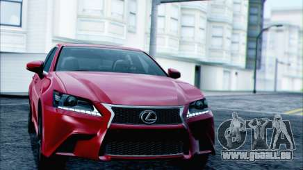 Lexus GS250 F Sport 2013 für GTA San Andreas