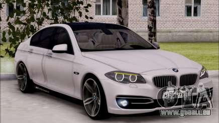 BMW 550 F10 xDrive pour GTA San Andreas