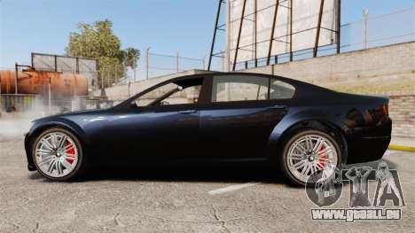 GTA V Cheval Fugitive für GTA 4 linke Ansicht