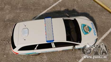 Ford Mondeo Croatian Police [ELS] pour GTA 4 est un droit