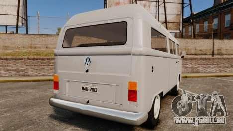 Volkswagen Kombi 1999 pour GTA 4