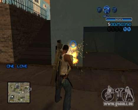 C-HUD Minimal für GTA San Andreas dritten Screenshot