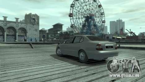 Daewoo Leganza für GTA 4 hinten links Ansicht