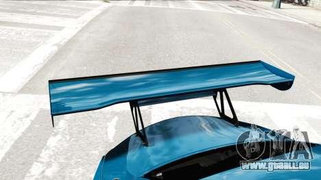 BMW Z4 GT3 2012 für GTA 4 Seitenansicht
