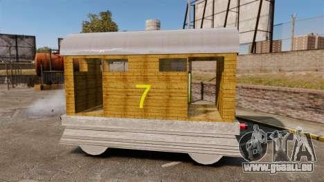 Zug-Toby- für GTA 4 linke Ansicht