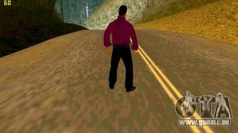 La nouvelle texture shmycr pour GTA San Andreas deuxième écran