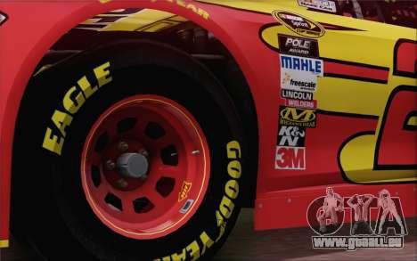 Ford Fusion NASCAR Sprint Cup 2013 pour GTA San Andreas sur la vue arrière gauche
