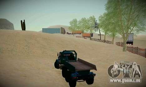Piste off-road pour GTA San Andreas cinquième écran