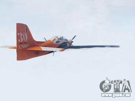 Embraer T-27 Tucano 30 Anos pour GTA San Andreas laissé vue
