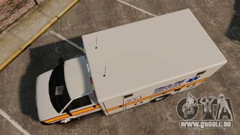 Brute Speedo LEMS Ambulance [ELS] für GTA 4 rechte Ansicht