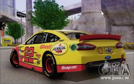 Ford Fusion NASCAR Sprint Cup 2013 pour GTA San Andreas laissé vue