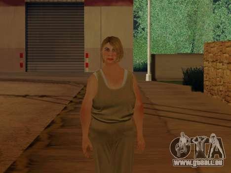 Ältere Frau für GTA San Andreas zweiten Screenshot