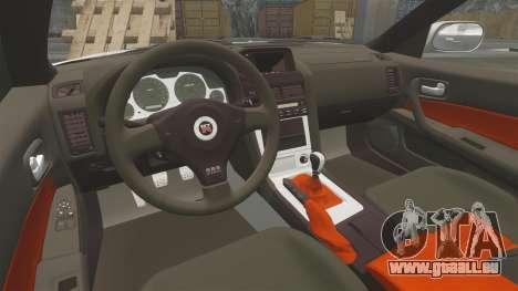 Nissan Skyline GT-R R34 V-Spec II pour GTA 4 est un côté
