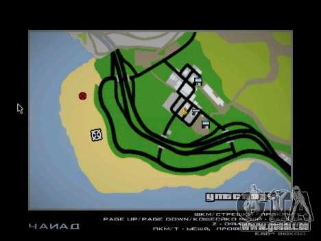 Piste off-road pour GTA San Andreas onzième écran