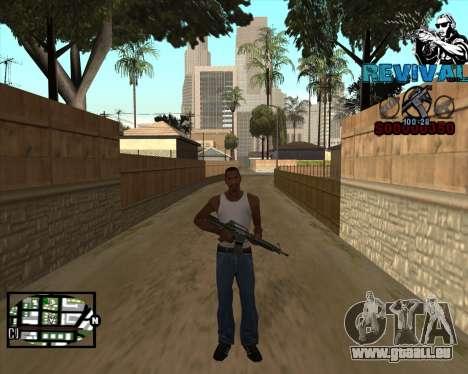 S-HUD-Revival-DM Par Mario_Nostra pour GTA San Andreas