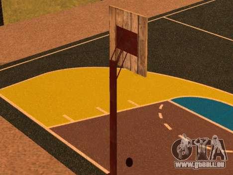 Terrain de basket pour GTA San Andreas quatrième écran