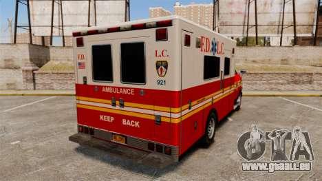 Brute FDLC Ambulance für GTA 4 hinten links Ansicht